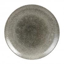 Churchill Studio Prints Raku Coupe Plate Quartz Black 28.8cm