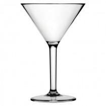 Diamond Polycarbonate Martini Glasses 10oz / 280ml