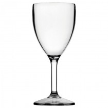 Diamond Polycarbonate Wine Glass 9oz / 270ml