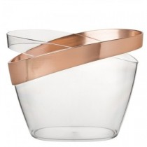 Copper Banded Champagne Bucket