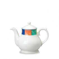 Churchill New Horizons Sandringham Tea/Coffee Pot Chequered 42.6cl