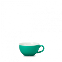 Churchill New Horizons Colour Glaze Cappuccino Cup Green 22.7cl
