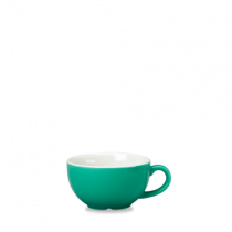 Churchill New Horizons Colour Glaze Cappuccino Cup Green 34cl