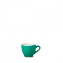 Churchill New Horizons Colour Glaze Espresso Cup Green 10cl