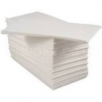 White Lunch Napkins 2ply 8 Fold 32cm