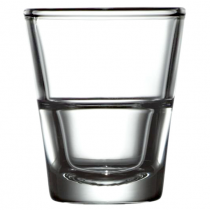 Stack Up Shot Glass 1.6oz 4.5cl