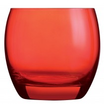 Salto Colour Studio Red Old Fashioned Glass 11.3oz 32cl
