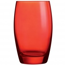 Salto Colour Studio Red Hiball Tumbler 12.5oz 35cl
