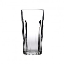 Paneled Beer Glasses 59cl 20 CE & Nucleated