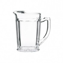 Ice Lipped Glass Jug 1.1Ltr