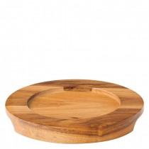 Round Acacia Wood Board 14.2cm