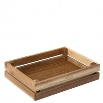 Acacia Medium Crate 26 x 20cm