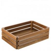 Acacia Large Crate  (32 x  22cm) H:  (9cm)
