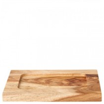 Rectangular Acacia Wood Board 21 x 16cm