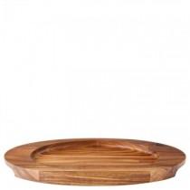 Oval Acacia Wood Board 30.5 x 17.5cm