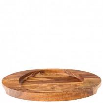 Oval Acacia Wood Board 25 x 18.5cm