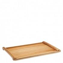 Acacia Rolled Edged Tray 34 x 22cm