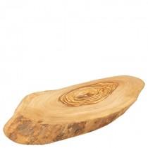 Olive Wood Rustic Platter 25cm