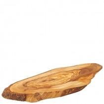 Olive Wood Rustic Platter 30cm