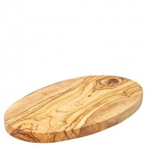 Olive Wood Oval Board 25cm