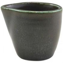 Terra Porcelain Cinder Black Jug 9cl 3oz