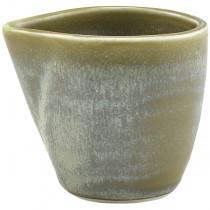 Terra Porcelain Matt Grey Jug 9cl 3oz