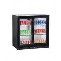 Koldbox Double Sliding Door Bottle Cooler