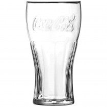 Coca Cola Clear Glass 16.2oz / 46cl