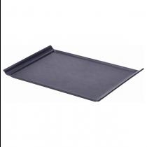 Luna Black Plastic Serving Tray 35 x 25cm