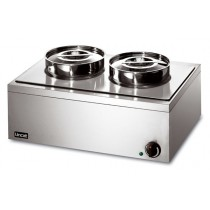 Lincat LRB2W Bain Marie Double Round Post Wet Heat