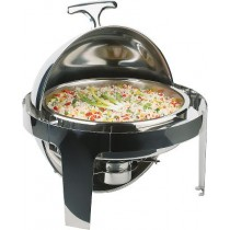 Round Rolltop Chafing Dish Elite 5 Litre