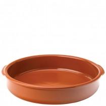 Estrella Terracotta Handled Serving Dish 36cm