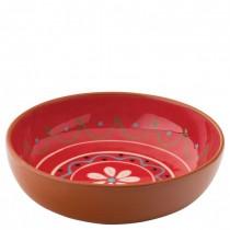 Estrella Terracotta Fiesta Red Bowl 18cm