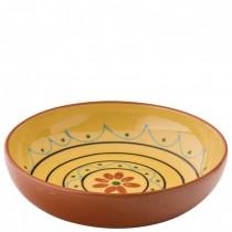 Estrella Terracotta Fiesta Yellow Bowl 22cm