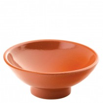 Estrella Terracotta Footed Bowl 9.5cm