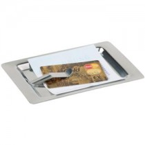 Stainless Steel Bill Tray 17 x 11cm