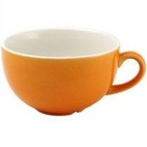 Churchill New Horizons Colour Glaze Cappuccino Cup Orange 22.7cl