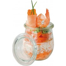 Lidded Glass Display Jar 220ml/8oz