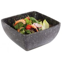 Granite Effect Melamine Bowl 25 x 25cm