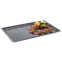 Granite Effect Melamine Buffet Tray GN 53 x 32.5cm