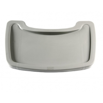Plastic High Chair Tray Platinum