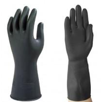 Heavy Duty Rubber Gloves Black