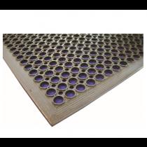 Rubber Floor Mat Black 90 x 150 x 1.4cm