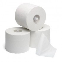 Corematic Toilet Rolls White 2Ply