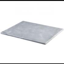 Grey Marble Platter 32 x 26cm