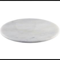 White Marble Platter 33cm