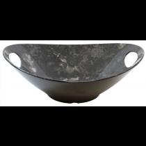 Frostone Naturals Black Marble Melamine Bowl 3.5Ltr