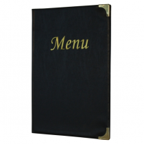 Basic Menu Holder A4 Black