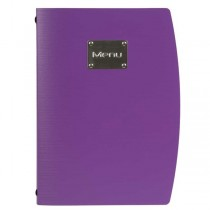 Rio Menu Holder A4 Purple