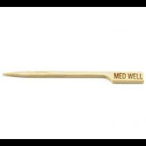 Bamboo Steak Paddle Picks Medium Well 9cm m